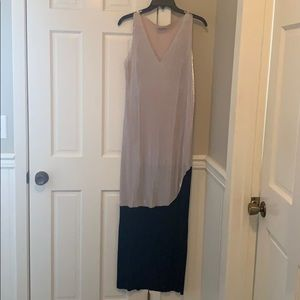 Zara crinkle looking maxi dress